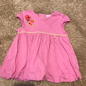 GYMBOREE pink shirt with flowers